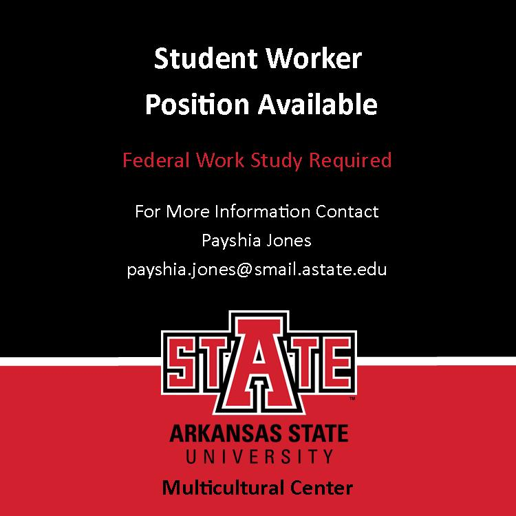 Student Worker Ad