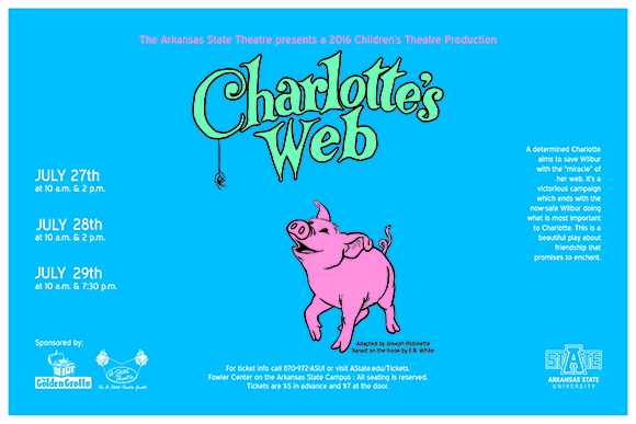 Charlottes Web Small poster A