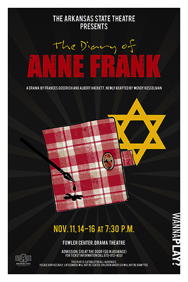 Diary of Anne Frank poster 2016 small
