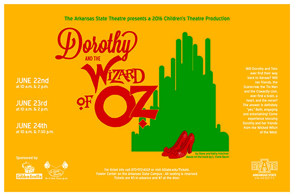 Wizard of Oz Small poster