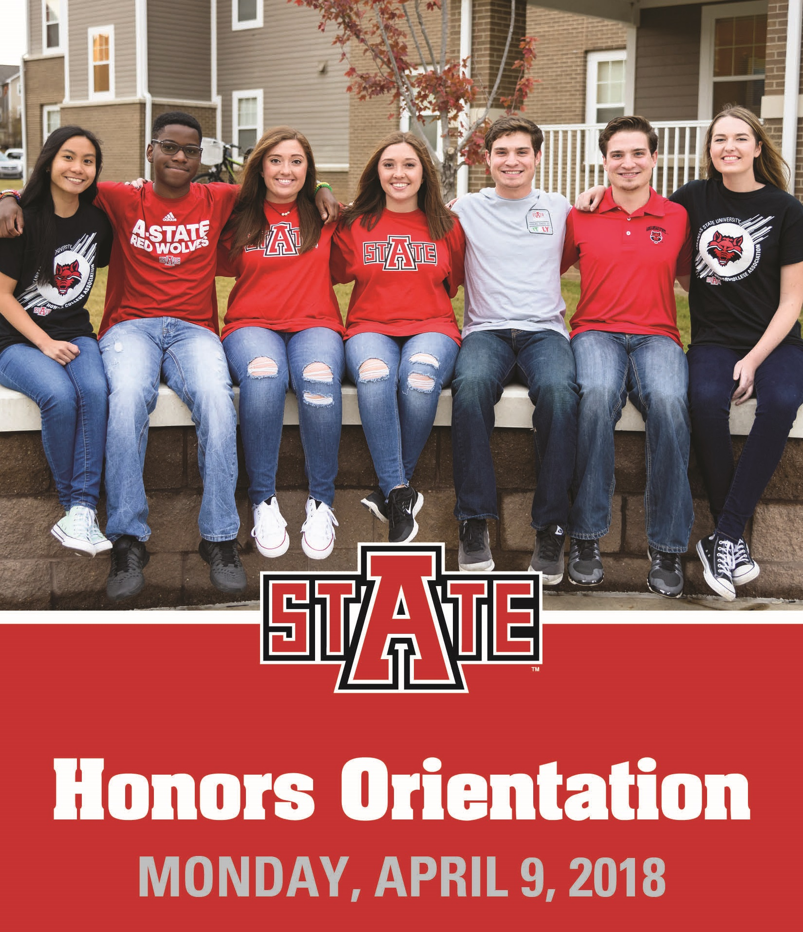 Honors Orientation postcard 2018