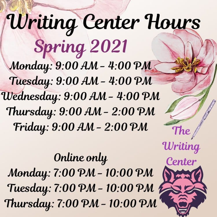 Spring 2021 operational hours