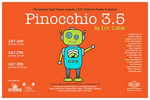 Pinocchio 3.5 poster with Small robot