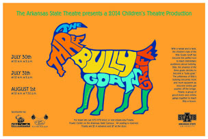 The 3 Bully Goats Griff small poster