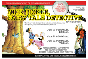 Nick Tickle, Fairy Tale Detective
