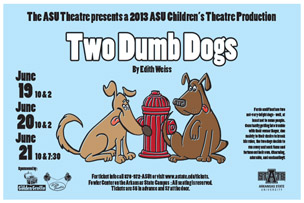 two dumb dogs poster
