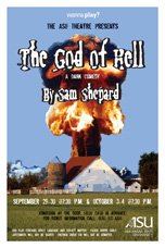 The God of Hell Poster