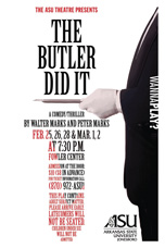The Butler Did It Poster