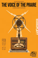 Voice of the Prairie Poster, Microphone