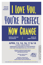 I Love You, You're Perfect, Now Change Poster