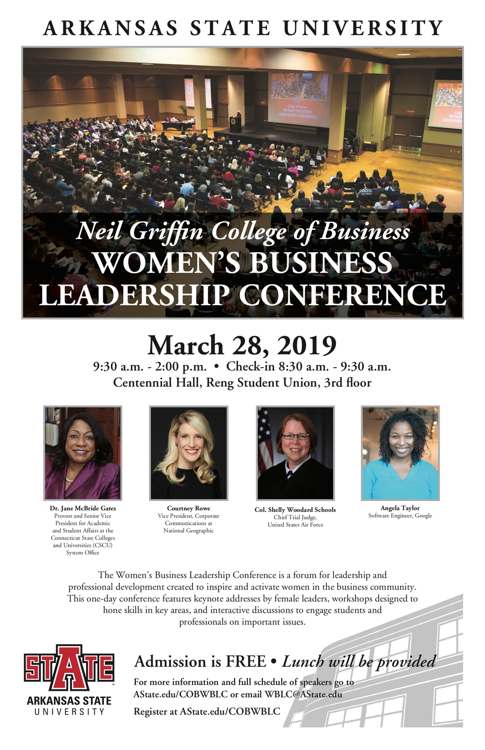 Women's Business Leadership Conference Scheduled March 28