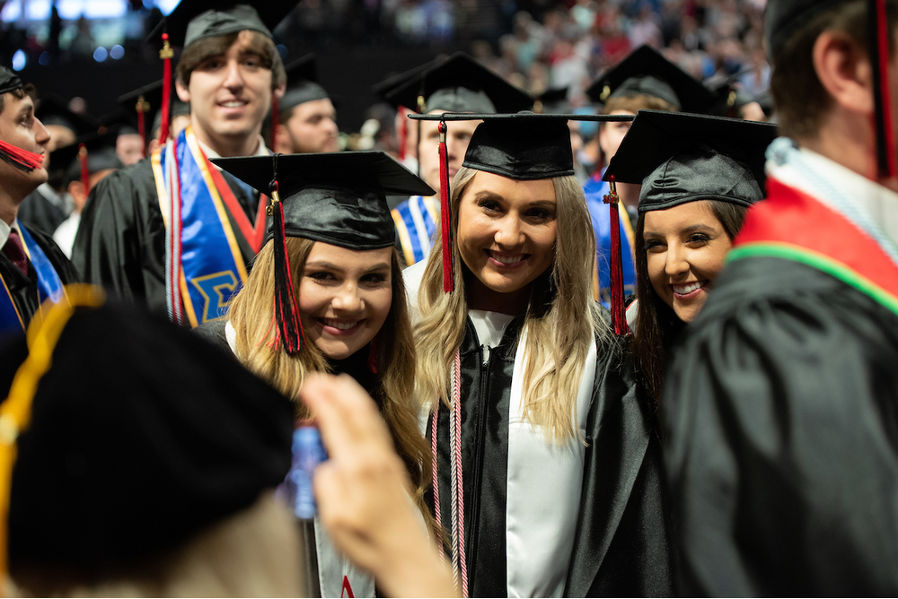 Graduates Receive Degrees at 2019 Spring Commencement