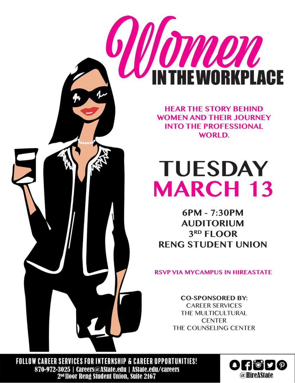 Panel to Discuss Women in the Workplace March 13