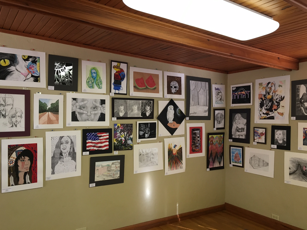 HPMEC Honors Student Art Exhibition Winners