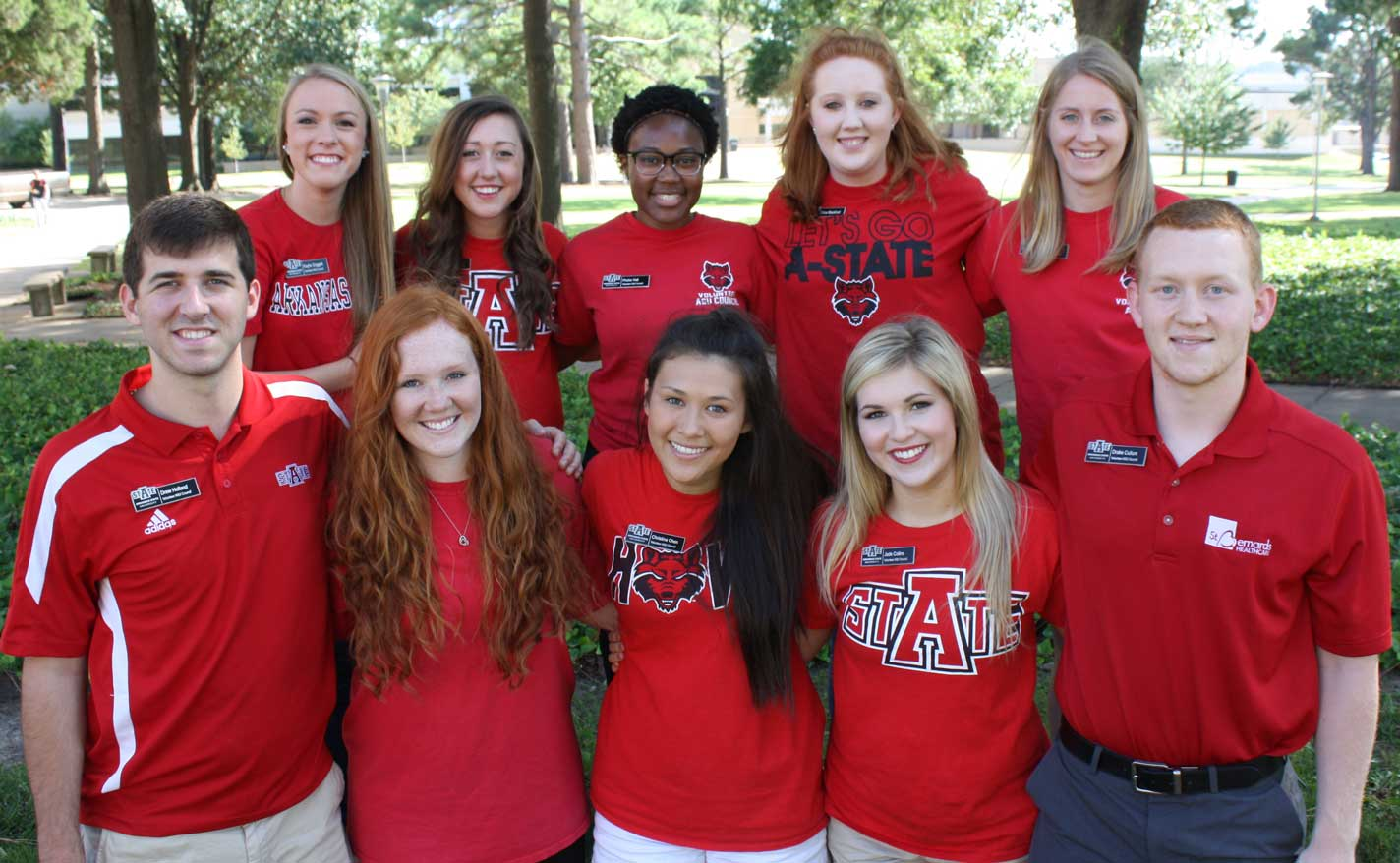 Volunteer A-State Council 2014-15