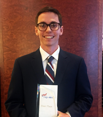 Student Wins Phi Beta Lambda National Title at Convention