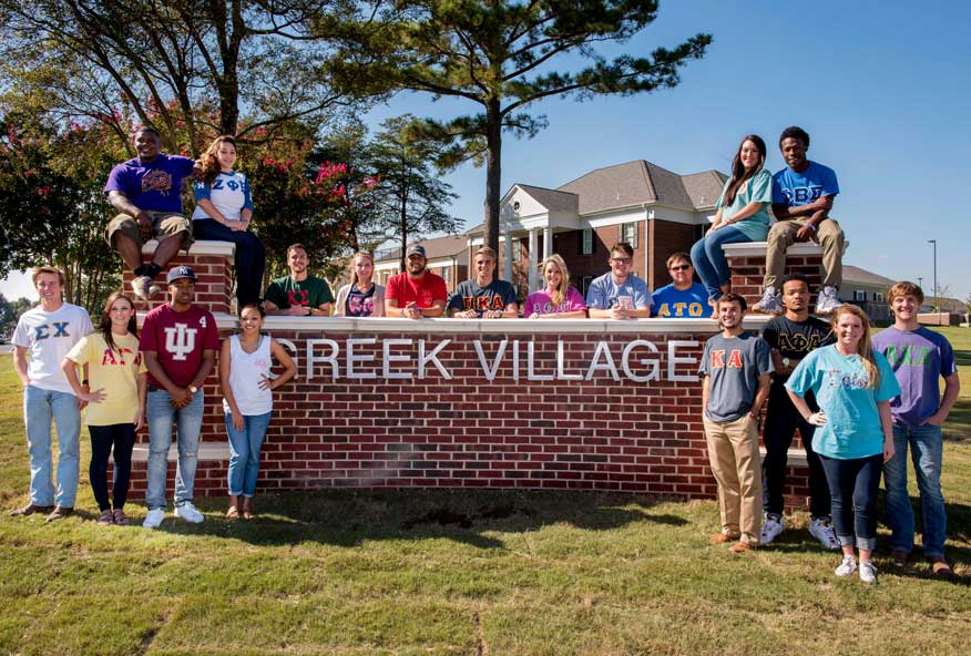 Students enjoy Greek Village
