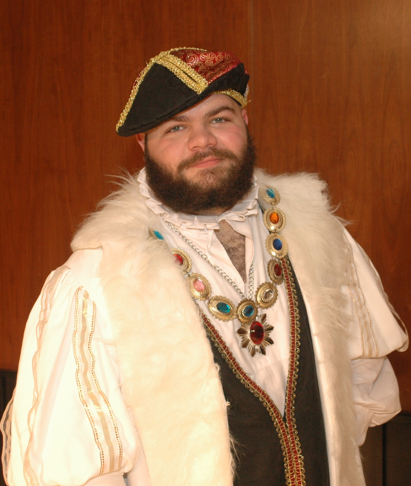 John Phillians as King Henry VIII