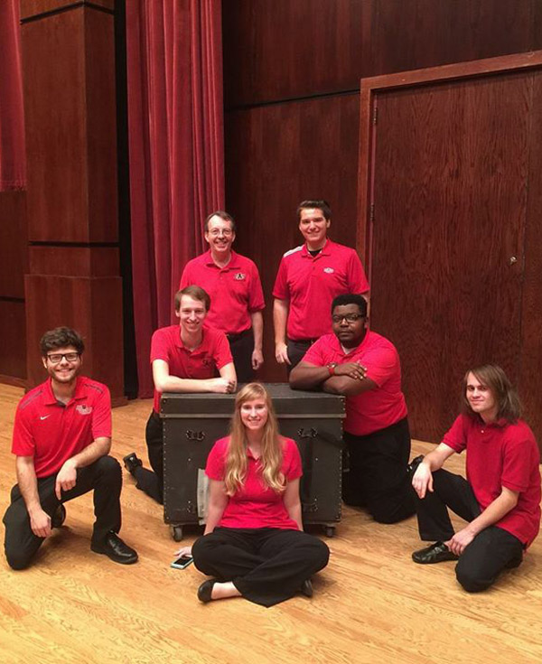 Percussion Ensemble to Perform in Recital, Nov. 2