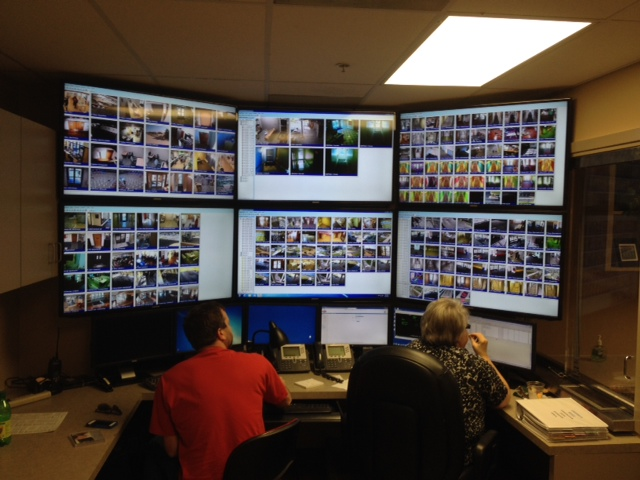 University Police Department's Video Wall
