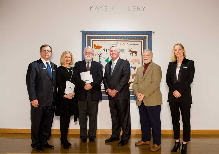 Kays Foundation Endows Gallery in Bradbury Art Museum