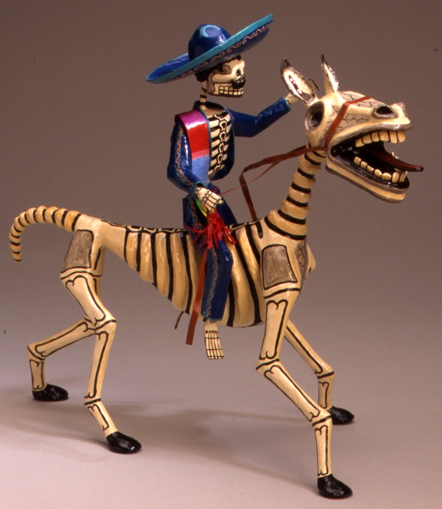Garcia, Skeletal Horse and Rider
