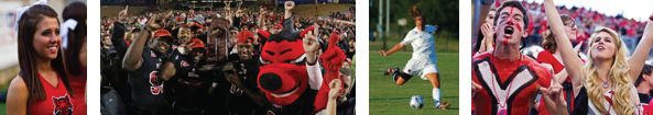 Various sporting activities at Arkansas State