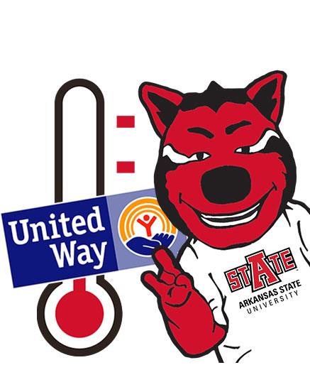 Students, Faculty and Staff Engaged in United Way Campaign