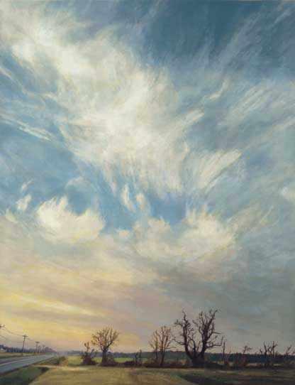 Sky and Trees, by Nancy McIntyre
