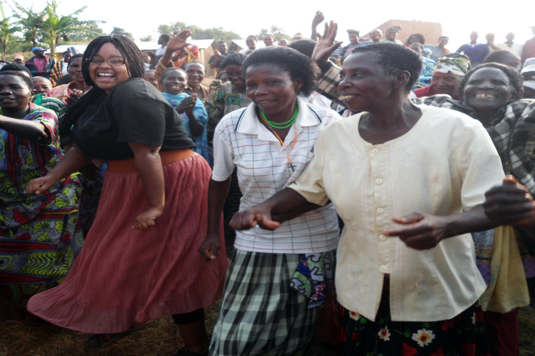Neena in Uganda