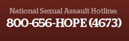 sexual assault hotline