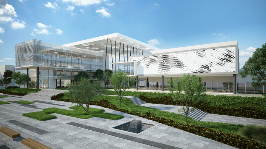 Mexico campus rendering