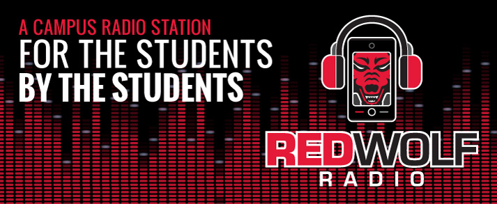 Red Wolf Radio: A campus radio station for the students, by the students