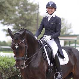 Ryan Competes in Regional Dressage Contest