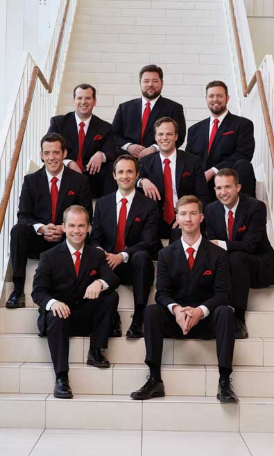 Cantus, Men's Vocal Ensemble, To Perform at Fowler Center
