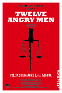 Twelve Angre Men Poster