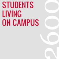 2600 Students Living on Campus