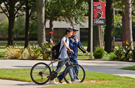 Students on the ASU Campus
