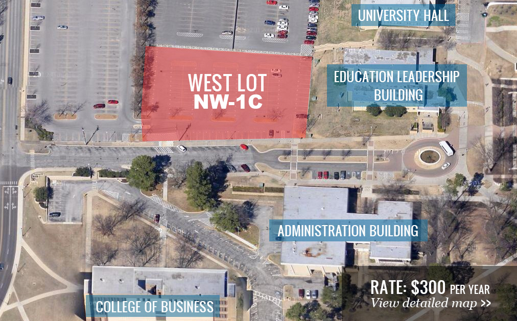 West Lot Map