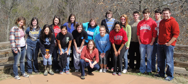 A-State Honors World Literature Class at Heifer Ranch