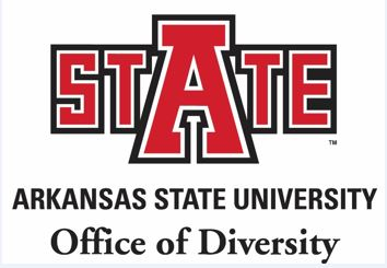 Shows the Arkansas State Office of Diversity Logo
