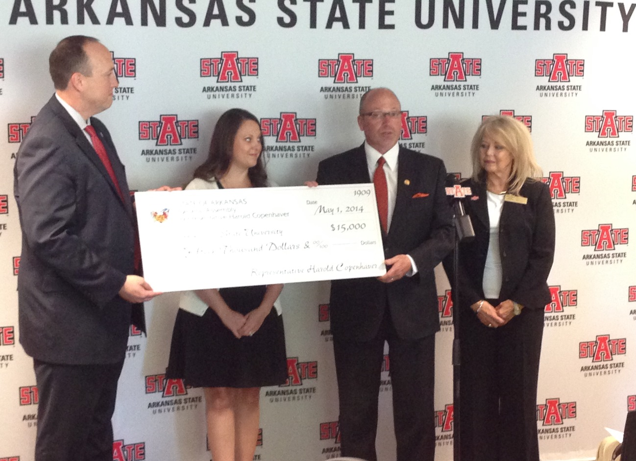 Rep. Copenhaver Presents Check