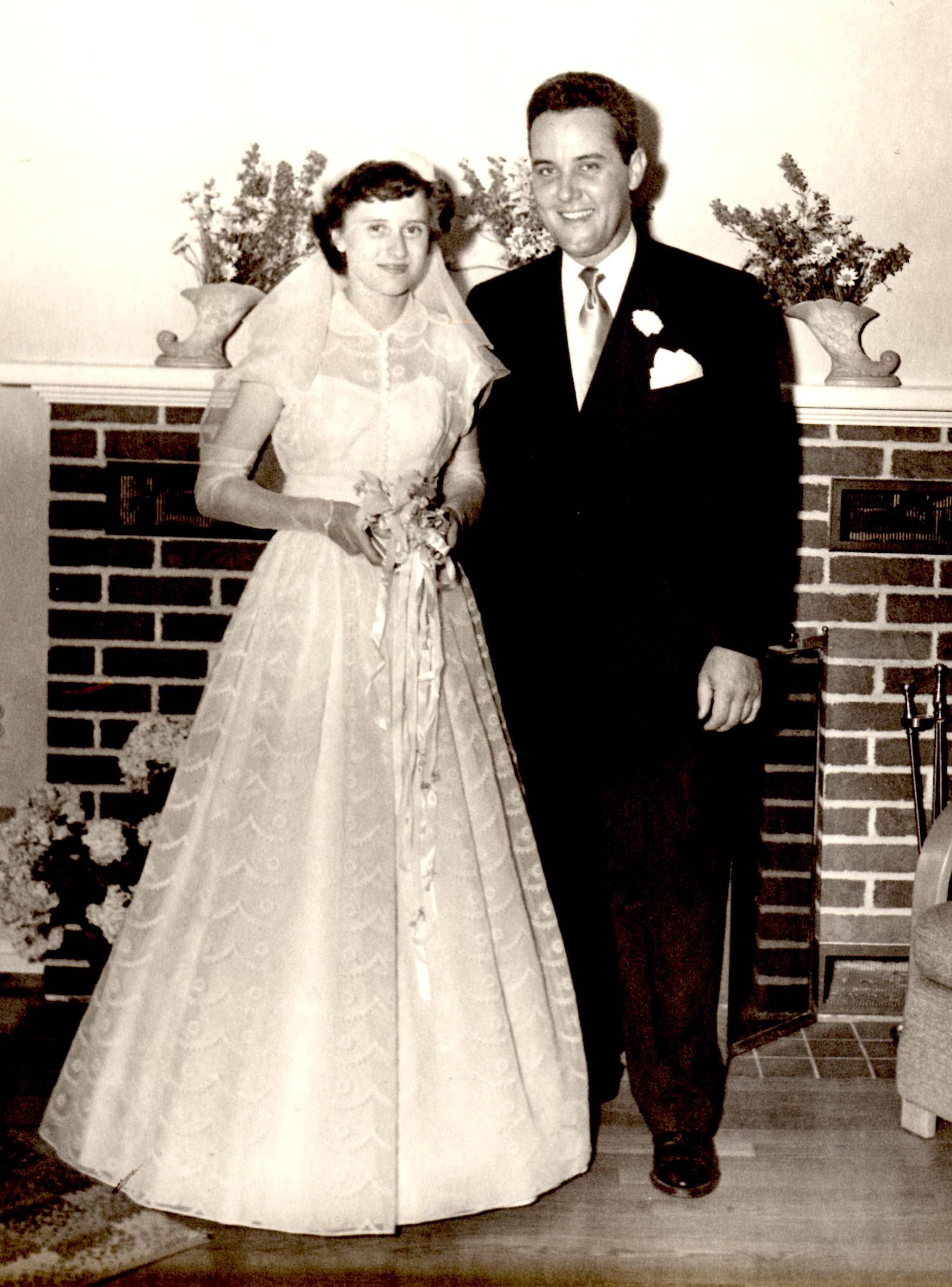 Helen and George Pratte, 1949