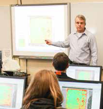 Magazine Features Keith Morris and Agriculture's Spatial Technology Program