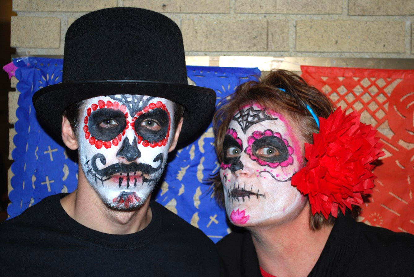 Examples of face painting