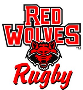 Red Wolf Rugby logo