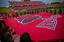 Red Wolves flag