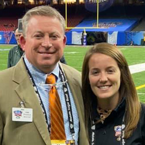Provences Serve on Sugar Bowl Media Staff