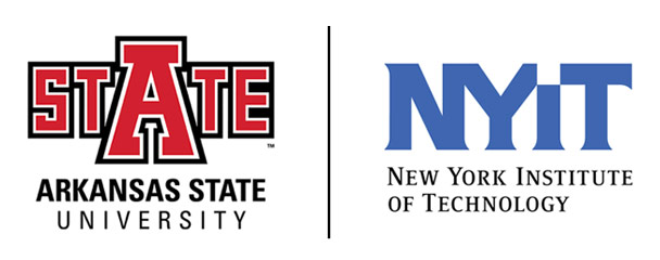 A-State and NYIT Logos