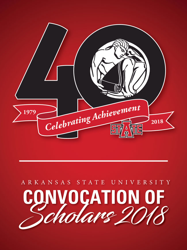 40th Annual Convocation of Scholars Set for April